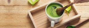 Matcha Tee Bio zubereiten