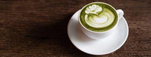 Matcha-Tee vs Kaffee