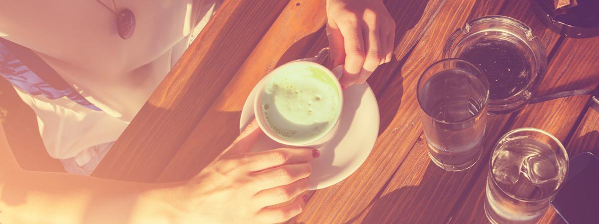 Matcha-Tee Wirkung