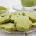 Matcha-Kekse